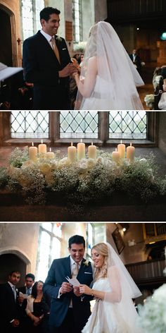 Love the candles and flowers