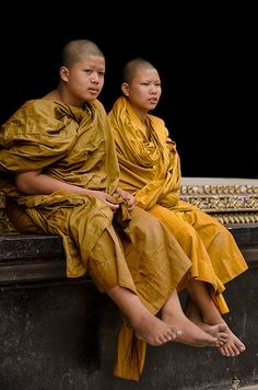 Pair of Novices . Thailand