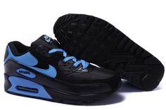 uk availability f1e97 0b76d Nous vendons Nike Air Max 90 Homme Noir Bleu Chaussures Soldes Paris