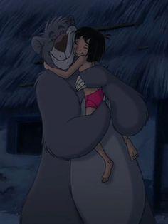 Baloo & Mowgli - The Jungle Book <3