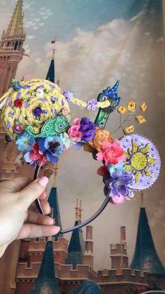 Tangled Disney ears