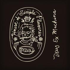 deus ex machina (art by curtis jinkins) Graphic Illustration, Graphic Art, Graphic Design, Design Art, Logo Design, Decoration Design, Deus Ex Machina, Corporate Identity Design, Bottle Art