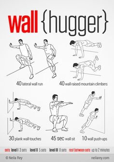 A huge no-equipment workout collection with visual easy-to follow guides for all fitness levels.