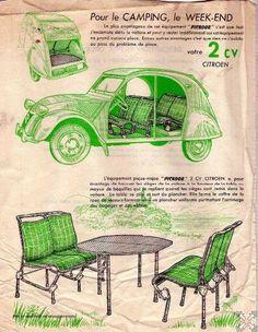 Citroën 2CV | Pic-nic equipement                                                                                                                                                                                 Plus