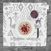 Image of Maailman Synty Tea Towel by Saana & Olli