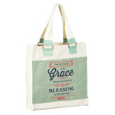 """Too Blessed to be Stressed Tote Bag Book Bag 14/""""x 13/"""" Shopping Tote"""