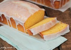 Starbucks Iced Lemon Pound Cake-oh my the batter is yummy, but I think next time I will start with a lemon cake mix and go from there to be extra, extra lemony