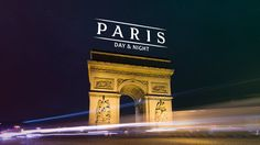 5 minute time lapse video depicting Paris.  No words.  music only