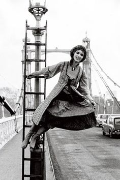 Talitha Getty - Part of the swinging London scene that spurred so many It girls, this well-connected girl married John Paul Getty in a mink-trimmed mini-skirt. Dreamy! Together they hosted wild parties at their Marrakesh home with stars like the Rolling Stones and Yves Saint Laurent embracing the Getty's hedonistic lifestyle. Photo by Hogenboom - Vogue UK