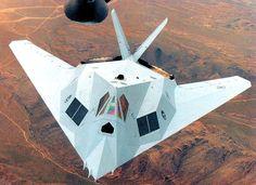 Grey Lockheed F-117A Nighthawk prototype.