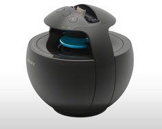 Portable dock - 360 degree sound.