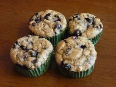 Blueberry Oatmeal Blender Muffins – Fix Approved Recipes