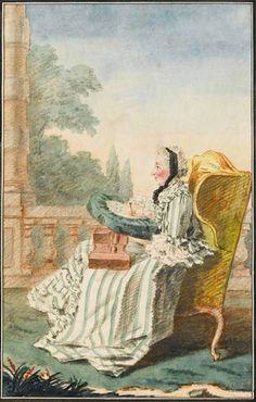 1769 Princesse de Bouillon by Louis Carrogis (Musée Condé - Chantilly France) | Grand Ladies | gogm