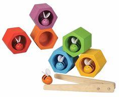 Plan Toys behendigheidsspel Bijenkorf, Beehives