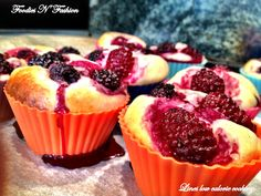 Foodies N 'Fashion: Cheesecake-muffins Ricotta & Berries
