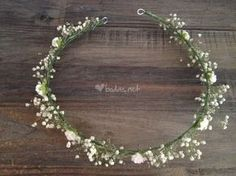 Decor Crown Fashion of Oh … - Wedding Hairstyles Flower Crown Wedding, Wedding Headband, Bridal Flowers, Bridal Hair, Floral Hair, Floral Crown, Crown Hairstyles, Wedding Hairstyles, Girls Crown