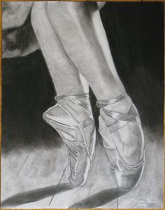 I miss dancing on pointe...