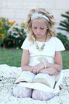 Sunshine In My Soul: Savannah's Baptism Photoshoot