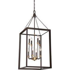 Quoizel|BKH5208WT|Foyer 8 lgt western bronze