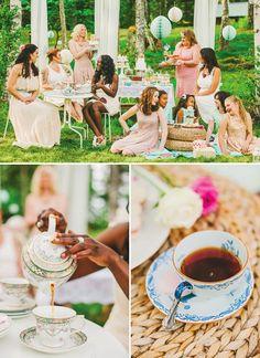 Chá para as amigas: festas ao ar livre estão vindo aí com tudo!