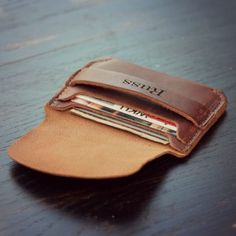 Front pocket wallet. Brilliant