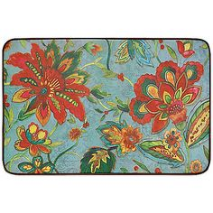Calm Chef Anti-Fatigue Kitchen Mat in Water Lily - BedBathandBeyond