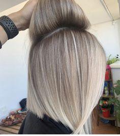 Blonde Hair Shades, Blonde Hair Looks, Blonde Hair With Highlights, Platinum Blonde Hair, Cream Blonde Hair, Balayage Hair, Ombre Hair, Hair Color And Cut, Great Hair