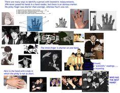 Plastic Macca - Paul is Dead: Faul McCartney caught right-handed Beatles Albums, Beatles Art, The Beatles, Paul Is Dead, Facial Recognition Software, Studio Musicians, Hair Patterns, Robert Johnson, Sir Paul