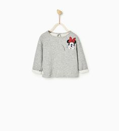 Image 1 of MINNIE TOP WITH POCKET from Zara aw16/17