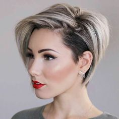 Women fashion Short hairstyle