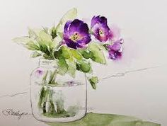 Image result for watercolor paintings of flowers