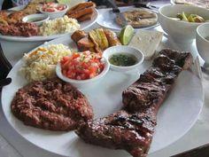 Un plato tipico hondureno
