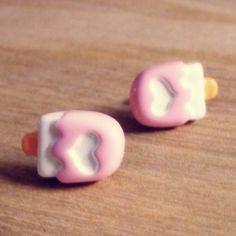 Heart Popsicle Earrings