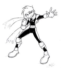 Danny Phantom Drawings | Danny Phantom Sketch 2007 By NewEraOutlaw