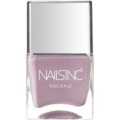 Nails inc Nailkale Windsor Mews Nail Polish/0.47 oz. ($14) ❤ liked on Polyvore featuring beauty products, nail care, nail polish, makeup, apparel & accessories, no color, nails inc. and nails inc nail polish