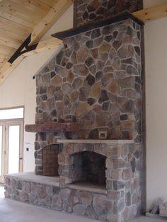 Fireplace, just finished today..  Village Craft Iron & Stone, Inc.