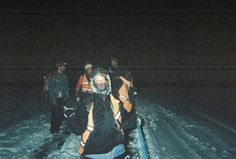 walking for 2 hours during a snowstorm at 13,000 ft up in the Bolivian mountains. Waiting to be rescued! #rescue #adventure #emergency #bolivia #mountains http://sorryimnotsorryblog.com/that-one-time-i-was-rescued-off-a-mountain-face-by-bolivian-swat/