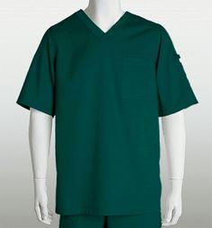 Grey's Anatomy Men's V-Neck Solid Scrub Greys Anatomy Men, Greys Anatomy Scrubs, Grey's Anatomy, Medical Scrubs, Scrub Tops, Workout Shorts, V Neck Tops, Short Sleeves, Mens Tops