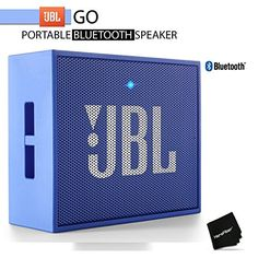 JBL GO Portable Bluetooth Speaker Blue w Rechargeable Battery and Built in Strap Hook * See this great product.