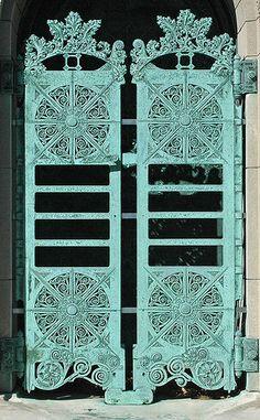 Louis H.  Sullivan Getty Tomb Doors