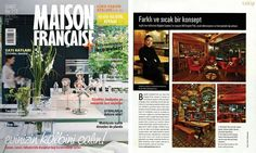 #rendahelindesign #rendahelin #press #turkey #magazine #maisonfrancaise #oldenglishpub #bistro #interior #interiordesign #decor #decoration