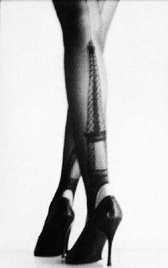 Here are the Gaultier tights!