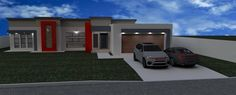 Best Single Storey Flat Roof House Plans In South Africa 640 x 480