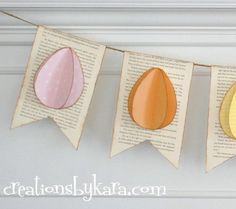 3D Egg Banner