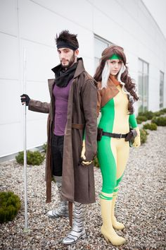 Rogue & Gambit Cosplay http://geekxgirls.com/article.php?ID=3961