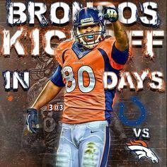 Kick off Denver Broncos