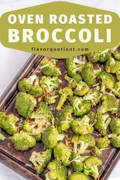 Finish your grilling season with this quick and simple oven roasted broccoli with garlic and cheese of your choice! Great side with your favorite grilled meat! | oven Roasted Broccoli | Roasted Broccoli recipe | Roasted Broccoli parmesan | garlic Roasted Broccoli | Roasted Broccoli and carrot | best Roasted Broccoli | #RoastedBroccoli #broccoli #garlicroastedbroccoli