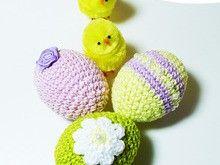 crochet pattern easter egg, crochet patterns easter, PDF easter eggs