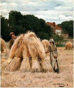 ■ HAWKINS, Louis Welden (French, 1849-1910) - Hide and Seek. Oil on canvas 55.5 × 45.8 cm -   Owens Art Gallery, Mount Allison University (Sackville, Canada) http://www.mta.ca/owens/index.php ■ Луис Велден ХОУКИНС - Прятки