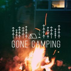 I want to go camping and just chill and sit around a fire all night. I used to go a lot when I was younger and it was so much fun to sit around and talk.